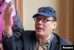 중국 당국에 억류된 것으로 알려진 호주 국적의 중국계 작가 양헝쥔.