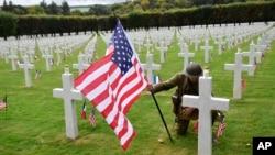 Američko groblje Meuse-Argonne ,sjevero-istok Francuske, Sept. 23, 2018.