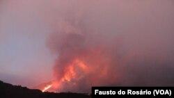 Vulcão do Fogo, Cabo Verde (Foto de Fausto do Rosário)