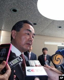 王毅接受媒体采访