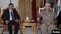 Serokê Herêma Kurdistan M.barazanî û S.Demirtaş hevserokê HDP