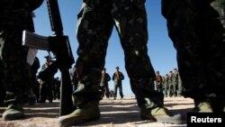 SSA တပ္သားမ်ား၊ မတ္၂၊ ၂၀၂၁။ (ဓာတ္ပံု - Reuters)