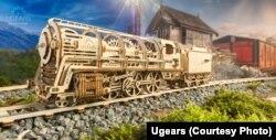 Механічна модель залізниці від Ugears