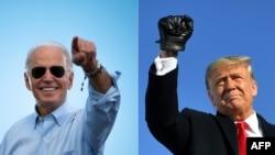 VaJoe Biden naVaDonald Trump