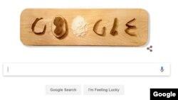 لوگوی گوگل در تجلیل از ایوا اکبالد