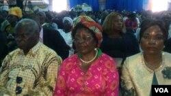 Abantu abangene inkonzo yeFamily of God Church ngeSonto eZITF.