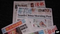 中港媒體對中國高鐵事故的報導有不同看法。