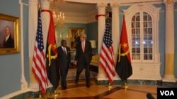 Georges Chikoti e John Kerry