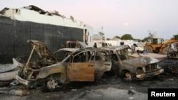 (Arşiv) Somali'nin başkenti Mogadişu, sık sık El Şebab örgütünün bomba yüklü araçlarla düzenlediği intihar saldırılarına ev sahipliği yapıyor