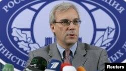 Duta Besar Rusia untuk NATO Alexander Grushko mengecam munculnya naluri dasar Perang Dingin NATO (foto: dok).