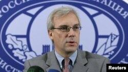알렉산드르 그루쉬코 나토 주재 러시아 대사 (자료사진)