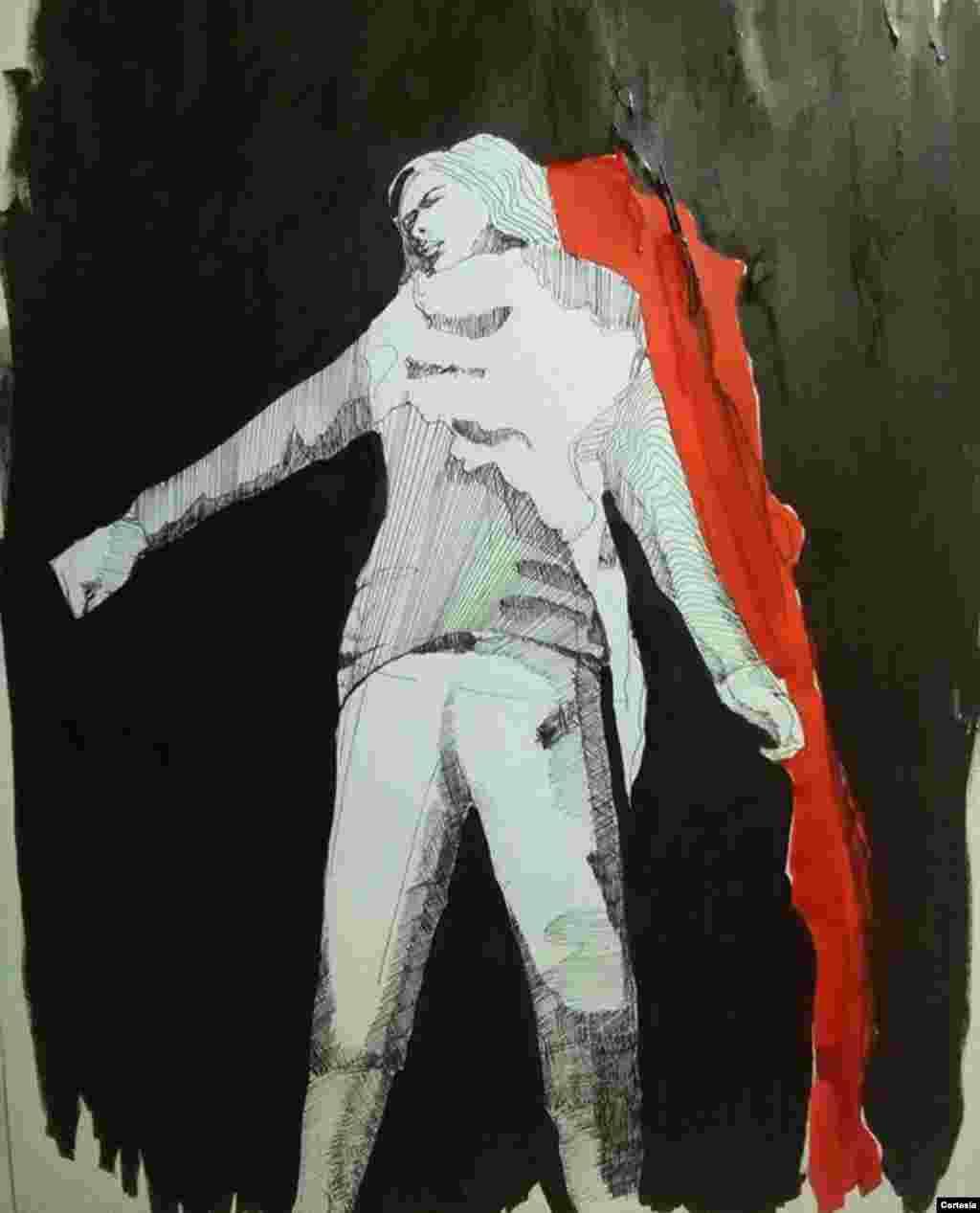 Obra del artista visual Daniel Valladares.