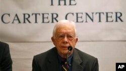 အေမရိကန္သမၼတေဟာင္း Jimmy Carter