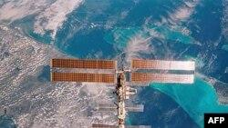 МКС в полете над Флоридой. Архивное фото.