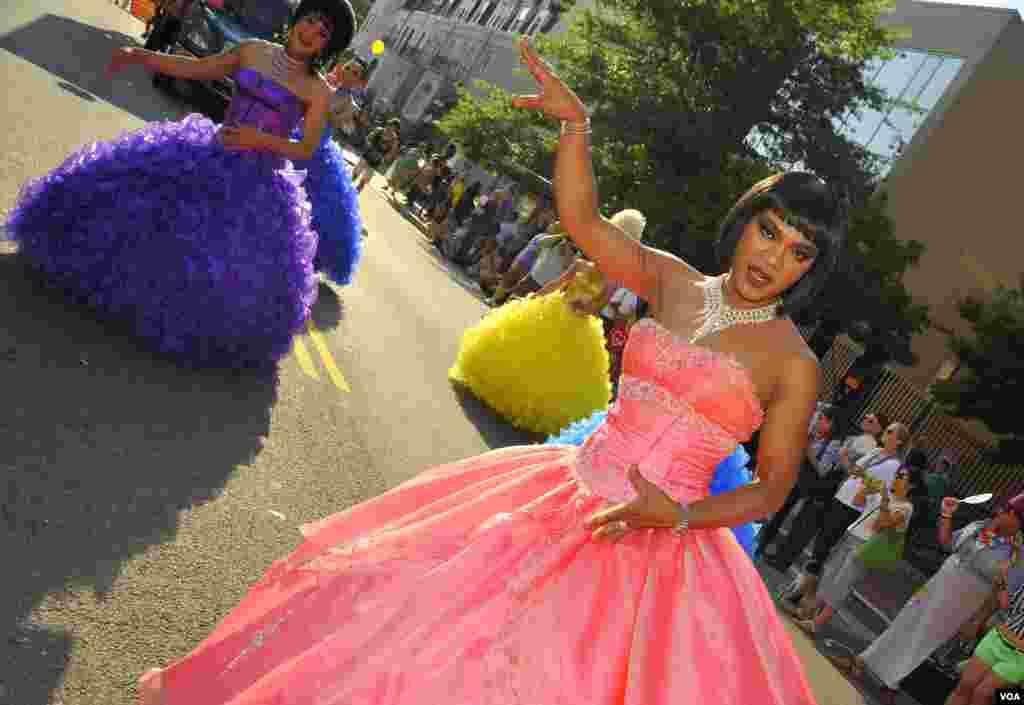 Вашингтонский Gay pride