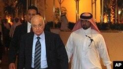 阿拉伯聯盟秘書長阿拉比星期六抵達多哈參加會議