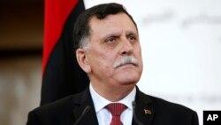 Fayez Sarraj, Premier ministre libyen.