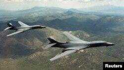 Hai máy bay ném bom B-1B Lancer của Hoa Kỳ