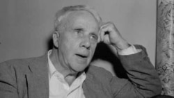 Robert Frost's success came from uniting traditional forms of poetry with American words, spoken in a clearly American way