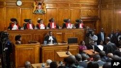 Juízes do Supremo Tribunal do Quénia