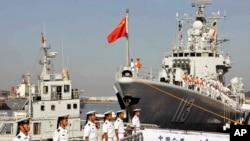 Hải quân Trung Quốc trong một cuộc tập trận.
