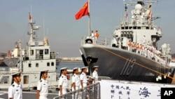 중국이 동중국해에서 29일부터 군사훈련을 실시한다. (자료사진)