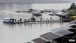 The Xayaburi dam, which would produce hydropower for market, has become a divisive issue among Mekong River countries.