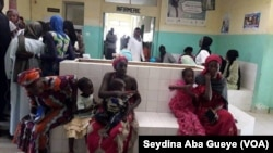 Centre de santé à Dakar, au Sénégal, le 19 avril 2019. (VOA/Seydina Aba Gueye)