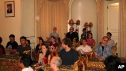 The members of Dharma Swara were drawn together by their interest in Balinese culture and music