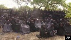 'Yan matan Chibok da kungiyar Boko Haram ta sace ranar Afirlu 14, 2014
