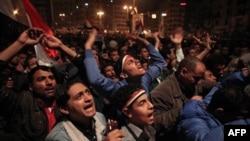 """""""Tahrir"""" maydoni, 10 fevral 2011"""
