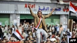 Yaman poytaxti Sanoda namoyishlar