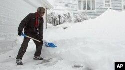 Se espera que las nevadas sean intensas en el oeste de Kansas.