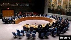 Le conseil de sécurité de Nations unies, New York, le 8 octobre 2016