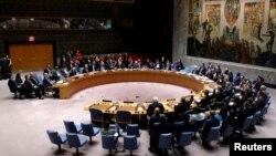 유엔 안보리 회의 모습(자료사진)