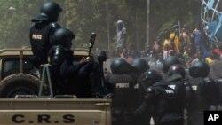Des éléments des forces de sécurité du Burkina Faso