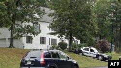 Snimak kuće Rezvana Ferdosa u Ešlendu u Masačusetsu. Ferdosa su uhapsili federalni agenti u tajnoj operaciji u sredu.