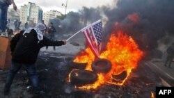 Акция против переноса посольства США в Иерусалим