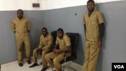 Activistas angolanos presos