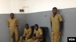 Activistas presos
