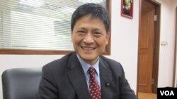 台湾在野党台联党立委赖振昌(美国之音张永泰拍摄)