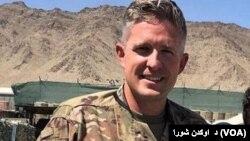 아프간에서 내부자 공격으로 피살된 미군 브렌트 테일러 (자료사진)
