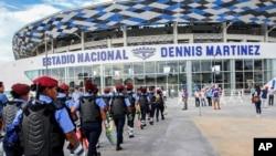 El gobierno de Taiwán impulsó la construcción del nuevo estadio Dennis Martinez de Managua, Nicaragua.