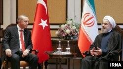 دیدار روحانی و اردوغان روسای جمهوری ایران و ترکیه