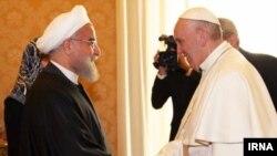 Ռուհանիի այցն Իտալիա եւ Վատիկան Իրանի նախագահ ընտրվելուց հետո Եվրոպա կատարված նրա առաջին այցն է: