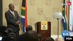 Umongameli Cyril Ramaphosa wakwele South Africa ekhuluma ngokulwisana leCoronavirus