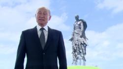Vladimir Poutine, triumphant, remercie ses compatriotes