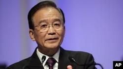 中國總理溫家寶(2011年9月14日資料照片)