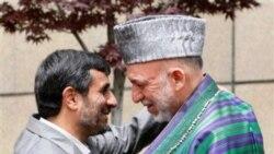محمود احمدی نژاد و حامد کرزی رییس جمهوری افغانستان