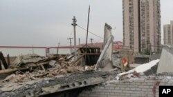 北京拆遷工地(資料照片)